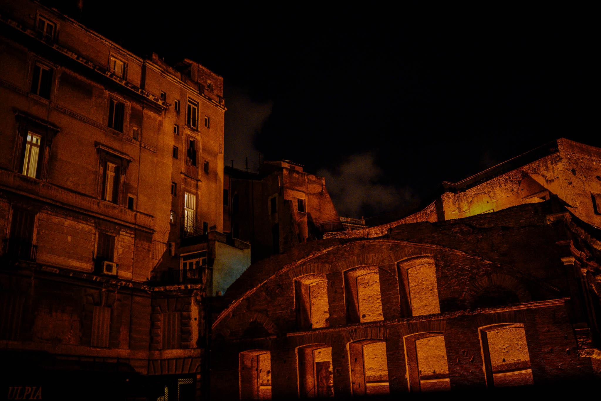 Italy – Rome night